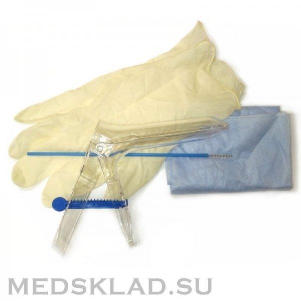 Набор гинекологический с цитощеткой