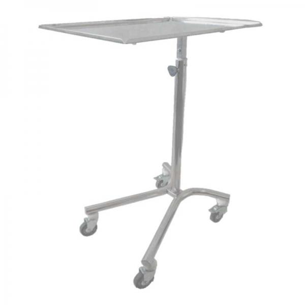 Столик медицинский на подвижных опорах типа Гусь 400×600