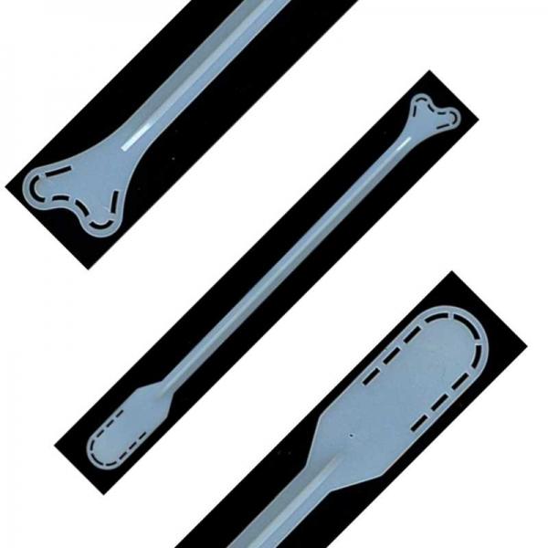 Шпатель Эйра гинекологический двусторонний (Зонд урогенитальный тип Е2)