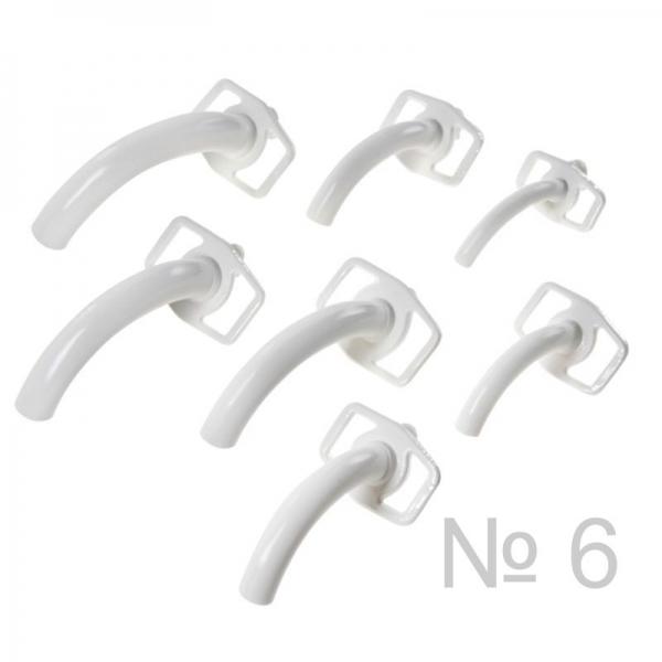 Трубка трахеотомическая пластмассовая № 6