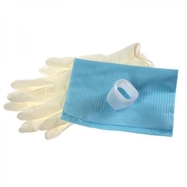 Загубник для эндоскопии с салфеткой и перчатками (стерильный)